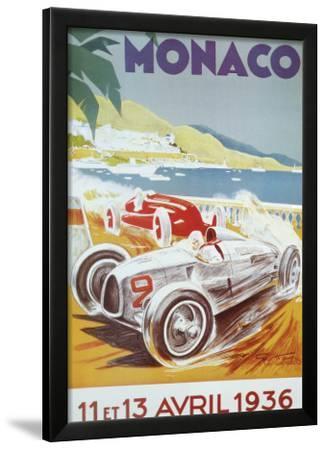 8th Grand Prix Automobile, Monaco, 1936 by Geo Ham
