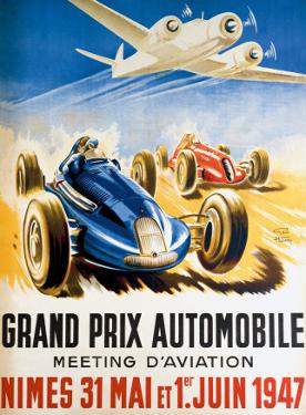 Grand Prix Automobile Nimes by Geo Ham