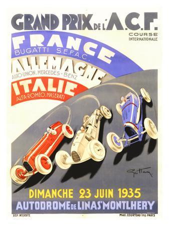 Grand Prix de l'A.C.F., 1935 by Geo Ham
