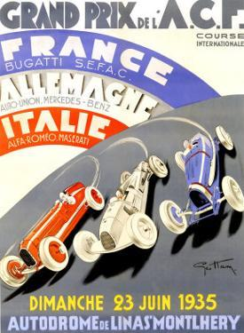 Grand Prix de l'A.C.F., 1935 by Geo Ham