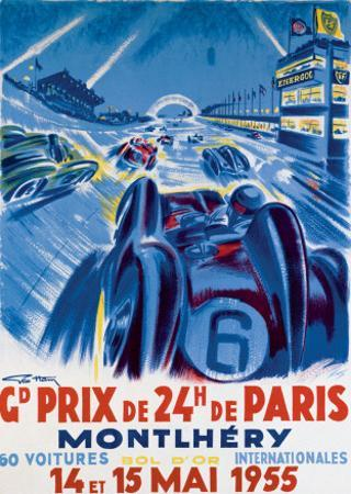 Grand Prix de Montlhery by Geo Ham