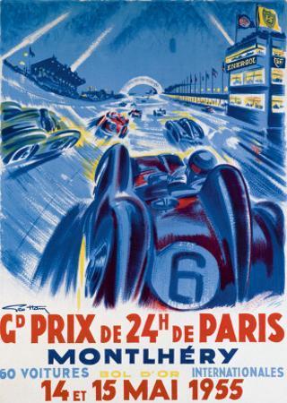 Grand Prix de Montlhery by Geo Ham