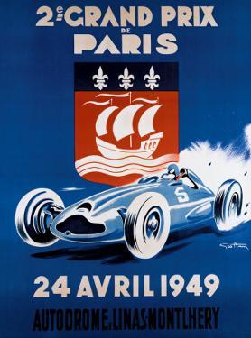 Grand Prix de Paris, 24 Avril 1949 by Geo Ham