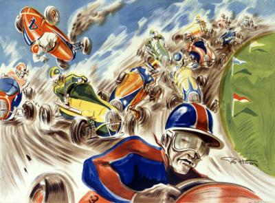 Midget Racing by Geo Ham