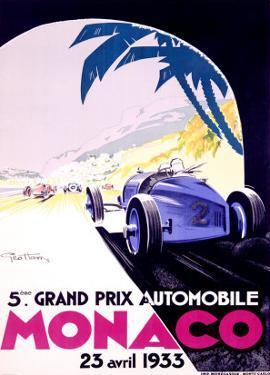 Monaco, 1933 by Geo Ham