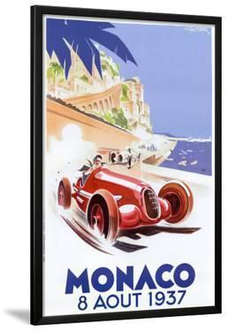 Monaco, 1937 by Geo Ham