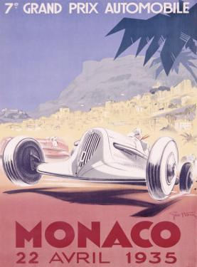 Monaco Grand Prix, 1935 by Geo Ham