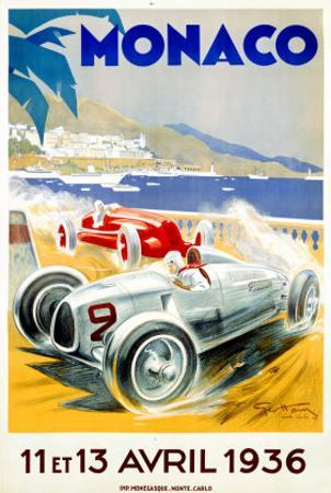 Monaco Grand Prix, 1936 by Geo Ham