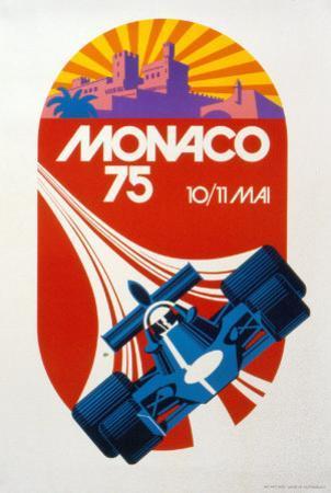 Monaco Grand Prix, 1975 by Geo Ham