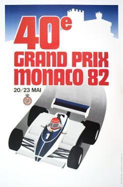 Monaco Grand Prix, 1982 by Geo Ham