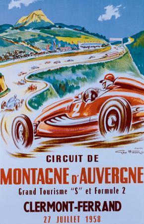 Montagne d'Auvergne by Geo Ham