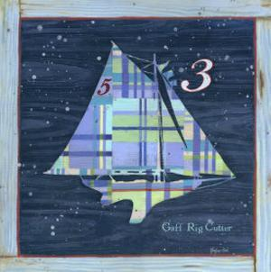 Gaff Rig Cutter by Geoff Allen