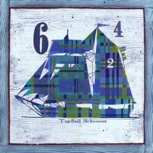 Top Sail Schooner by Geoff Allen