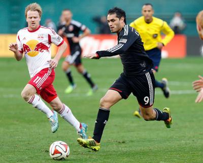 2014 MLS Playoffs: Nov 8, New York Red Bulls vs D.C. United - Dax McCarty, Fabian Espindola