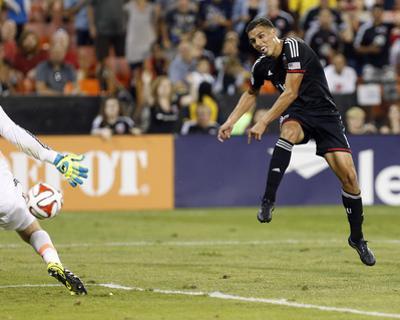 Aug 17, 2014 - MLS: Colorado Rapids vs D.C. United - Clint Irwin, Luis Silva