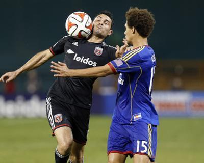 Aug 17, 2014 - MLS: Colorado Rapids vs D.C. United - Fabian Espindola, Chris Klute