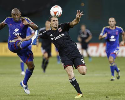Aug 17, 2014 - MLS: Colorado Rapids vs D.C. United - Fabian Espindola, Marvell Wynne