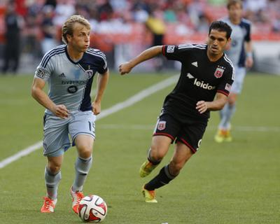 May 31, 2014 - MLS: Sporting KC vs D.C. United - Fabian Espindola, Seth Sinovic