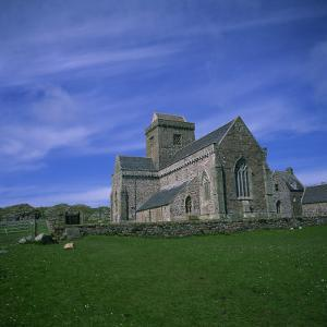 Abbey on Iona, Scotland, United Kingdom, Europe by Geoff Renner