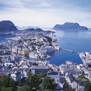 Alesund, Norway by Geoff Renner