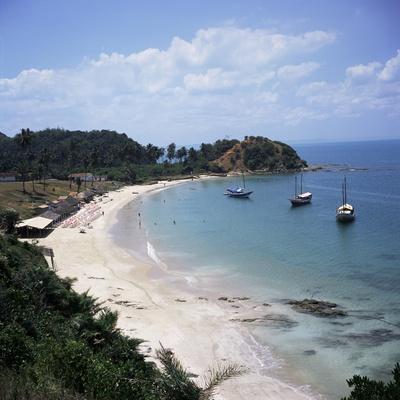 Baia (Bay) De Todos Os Santos, Near Salvador, Ilha (Island)_ Dos Frades, Bahia State, Brazil
