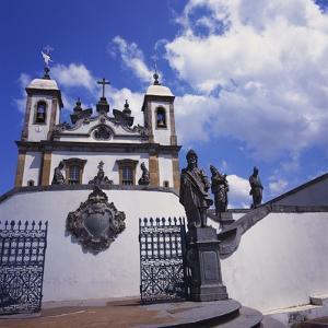 Basilica Do Bom Jesus De Matosinhos, Congonhas, Minas Gerais, Brazil by Geoff Renner