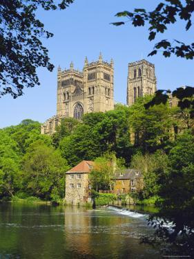 Durham Cathedral from River Wear, County Durham, England by Geoff Renner