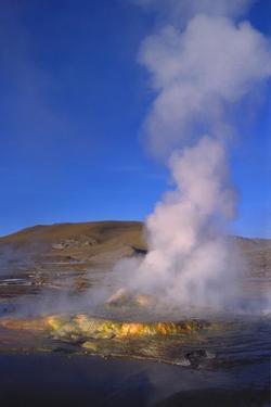 Geysers and Fumaroles, El Tatio, Atacama, Chile by Geoff Renner
