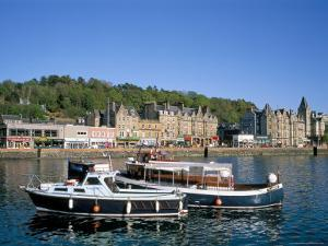 Harbour and Waterfront, Oban, Argyll, Strathclyde, Scotland, United Kingdom by Geoff Renner