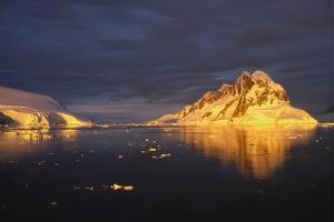 Midnight Sun on the Antarctic Peninsula by Geoff Renner