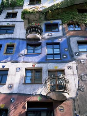 The Hundertwasser House, Vienna, Austria by Geoff Renner