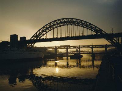 Tyne Bridge, Newcastle-Upon-Tyne, Tyneside, England, UK, Europe