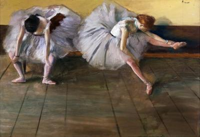 Dancers by Edgar Degas by Geoffrey Clements