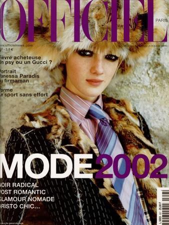L'Officiel, June-July 2001 - Jenny by Geoffroy de Boismenu