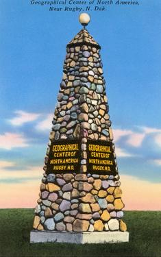 Geographical Center of North America, Rugby, North Dakota