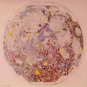 Geological Map of the Moon, 1967