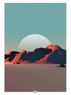 Low Poly Mountain 8 by GeoManiac