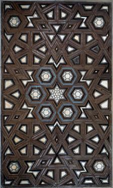 Geometric Pattern from a Wooden Door