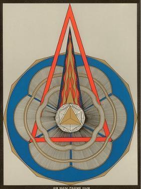 Geometric Representation of Om Mani Padme Hum Mantra