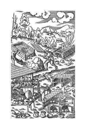 Iron Processing, 1556