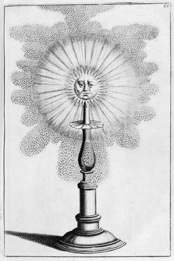 Sun Ornamental Fountain Design, 1664 by Georg Andreas Bockler