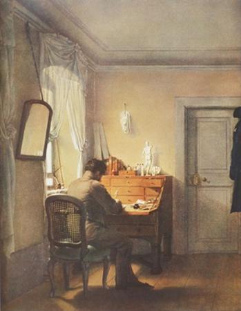 Man at Writing Desk