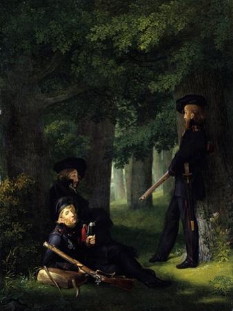Outpost Duty (Theodor Körner, Karl Friedrich Friesen and Heinrich Hartman), 1815