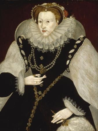 Portrait of Elizabeth I by Georg Gower