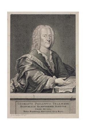 Portrait of Georg Philipp Telemann (1681-1757)