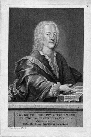 Portrait of Georg Philipp Telemann
