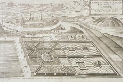 The New Gardens at Cremsier, the Residence of the Prince-Bishop, Published C.1700