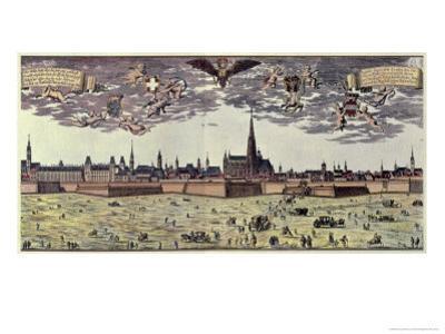 View of Vienna, 1672