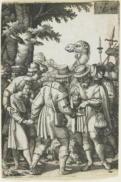 Joseph Sold to the Ishmaelites, 1546 by Georg Pencz