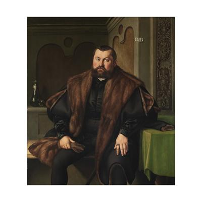 Portrait of Sigismund Baldinger (1510-155), 1545